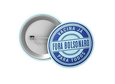 Botton Selo Fora Bolsonaro