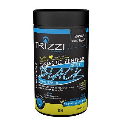 Creme de Pentear Infinity Black Cachos Definidos 1kg Trizzi