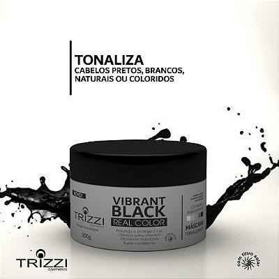 Máscara Vibrante Black Real Color 300g Trizzi