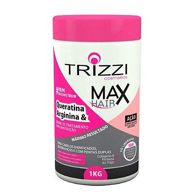 Creme de Tratamento e Reconstrução Queratina e Arginina 1kg Trizzi