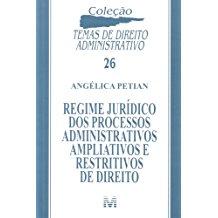 REGIME JURIDICO PROC. ADM.APLIAT. RESTR. DTO. /11