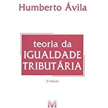 TEORIA DA IGUALDADE TRIBUTARIA - 03ED/15