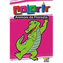 ANIMAIS DA FLORESTA - COL. COLORIR