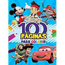 DISNEY - 100 PAGINAS PARA COLORIR - MENINOS