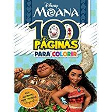 DISNEY - 100 PAGINAS COLORIR MOANA