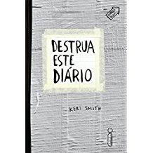 DESTRUA ESTE DIARIO - CAPA PRATA