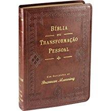 BIBLIA DE TRANSFORMACAO PESSOAL - (LUXO MARROM)