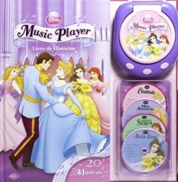DISNEY - MUSIC PLAYER - PRINCESAS - ( 0309 )