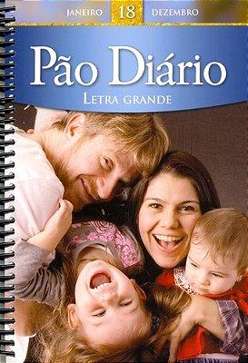 PAO DIARIO - VOL.18 - LETRAS GRANDE - (ESPIRAL)