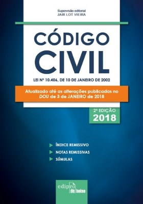 CODIGO CIVIL - MINI - 02ED/18