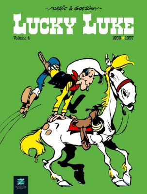 LUCKY LUKE - VOL.04 - (CAPA DURA)