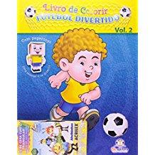 LIVRO DE COLORIR - FUTEBOL DIVERTIDO - VOL. 02