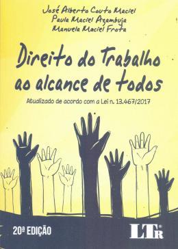 DIREITO DO TRABALHO AO ALCANCE DE TODOS - 20ED/18