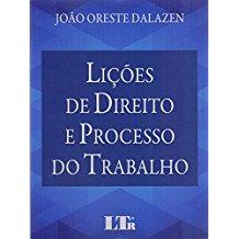 LICOES DE DIREITO E PROCESSO DO TRABALHO - 01ED/17