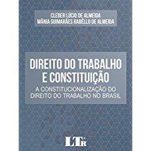 DIREITO DO TRABALHO E CONSTITUICAO - 01ED/17