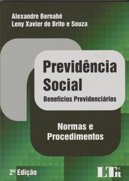PREVIDENCIA SOCIAL-BEN. PREV.-NORMAS E PROC-2ED/15