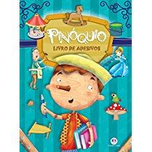 LIVRO DE ADESIVOS - PINOQUIO