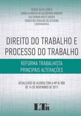 DIREITO DO TRABALHO E PROC. TRABALHO - 01ED/18