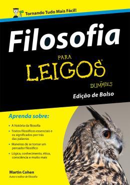FILOSOFIA PARA LEIGOS - (BOLSO)