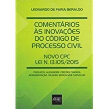 COMENTARIOS AS INOVACOES DO CODIGO PROCESSO CIVIL
