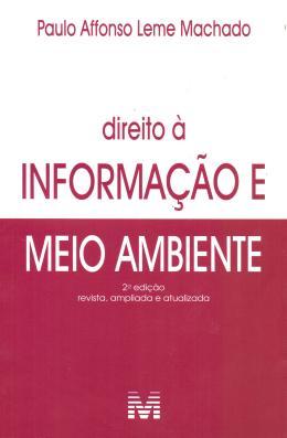 DIREITO A INFORMACAO MEIO AMBIENTE - 02ED/18