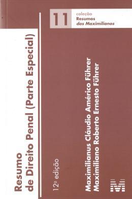 RESUMO DE DIREITO PENAL - PARTE ESPECIAL - VOL. 11