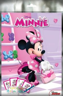 DISNEY - PINTE E BRINQUE - MINNIE