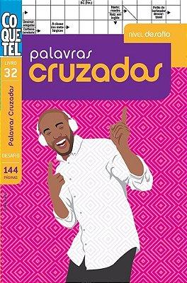 COQUETEL - PALAVRAS CRUZADAS - DESAFIO - LV. 32