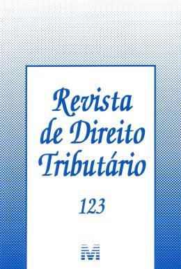 REVISTA DE DIREITO TRIBUTARIO VOL.123