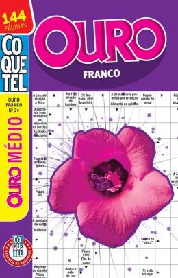 COQUETEL - OURO FRANCO - NIVEL MEDIO - LV. 24