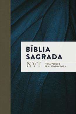 BIBLIA SAGRADA NVT - AZUL MARINHO