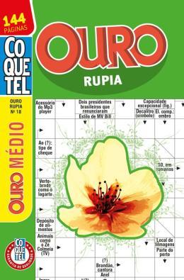 COQUETEL - OURO RUPIA - NIVEL MEDIO - LV. 17
