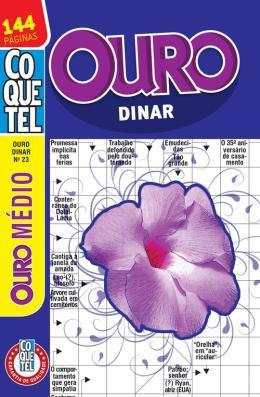 COQUETEL - OURO DINAR - NIVEL MEDIO - LV. 23