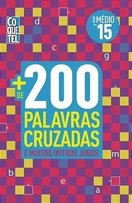 MAIS DE 200 PALAVRAS CRUZADAS - NV. MEDIO - LV 15