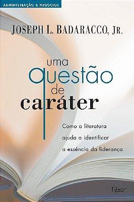 UMA QUESTAO DE CARATER