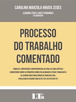 PROCESSO DO TRABALHO COMENTADO - 01ED/17