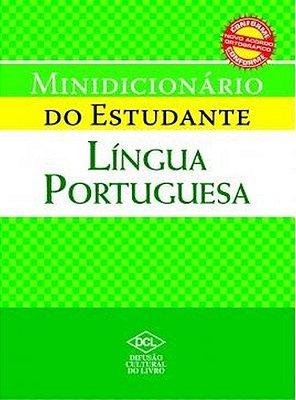MINI DICIONARIO DO ESTUDANTE LINGUA PORTUGUESA