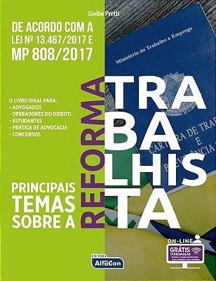 PRINCIPAIS TEMAS SOBRE REFORMA TRABALHISTA-01ED/18