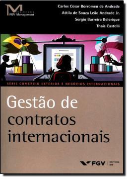 GESTAO DE CONTRATOS INTERNACIONAIS - 01ED/14