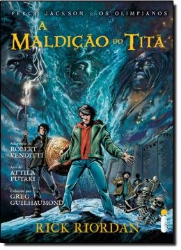MALDICAO DO TITA - (GRAPHIC NOVEL)
