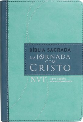 BIBLIA JORNADA COM CRISTO - NVT - VERDE