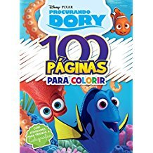 DISNEY PIXAR - 100 PAGINAS COLORIR PROCURANDO DORY