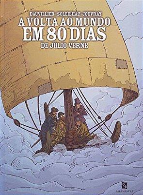 VOLTA AO MUNDO EM 80 DIAS, A - MODERNA -QUADRINHOS