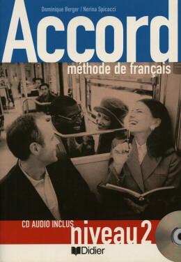 ACCORD 2 - LIVRE DE L´ELEVE AVEC CD-AUDIO