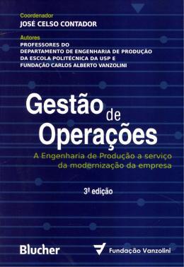 GESTAO DE OPERACOES - 3ª EDICAO