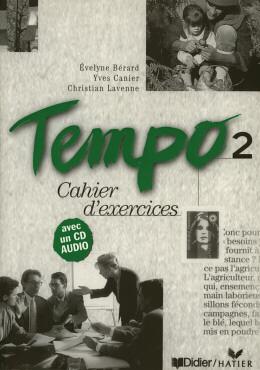 TEMPO 2 CAHIER D´EXERCICES AVEC CD AUDIO