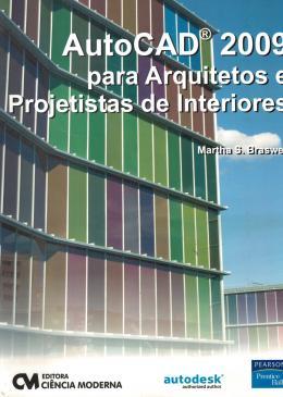 AUTOCAD 2009 PARA ARQUITETOS E PROJETISTAS DE INTERIORES
