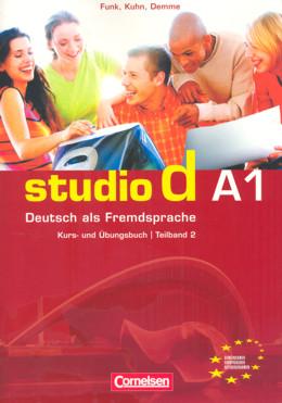 STUDIO D - TEILBAND 2 DES GESAMTBANDES 1. KURS-UND ARBEITSBUCH BD.A1, TL.2