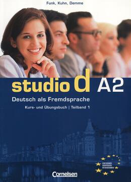 STUDIO D -  A2 KURS UND UBUNGSBUCH TEILBAND 1 - COL. STUDIO D