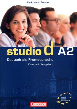 STUDIO D - A2. GESAMTBAND 2 - KURS- UND UBUNGSBUCH MIT CD BD.A2 - COL. STUD